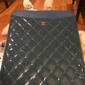 Chanel iPad cover case